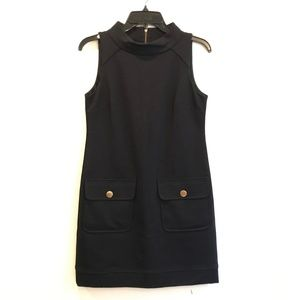 Cynthia Steffe Black Sleeveless Pockets Dress 2/SM